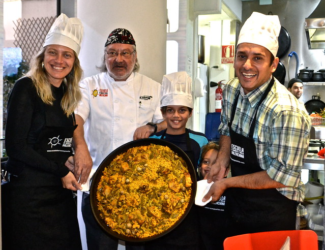 Paella Cooking Class, Valencia Spain - the finished product