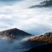 Les crêtes Vosgiennes percent les nuages by Aurélien GROSJEAN