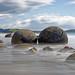 Moeraki Boulders by baldheretic