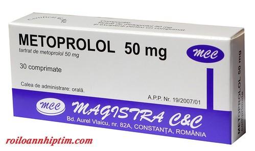 Metoprolol – Thuốc điều trị rối loạn nhịp tim hiệu quả