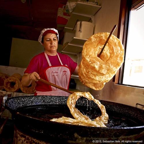 Churros de la mayordomía. Santisteban del Puerto, Spain  #europe #travel #portrait #travelphotography #wonderful_places #traditional #santisteban #santistebandelpuerto #jaen #spain #mayordomía #andalucia #andalusia