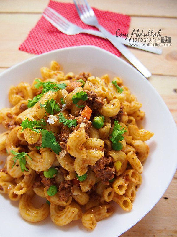 Macaroni Goreng Daging Cincang | EnyAbdullah.Com