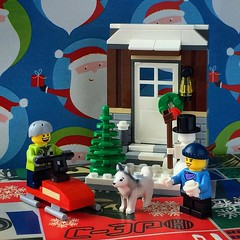 #lego #minifig #minifigure #winter #christmas #winterfun #seasonal #scottalynch