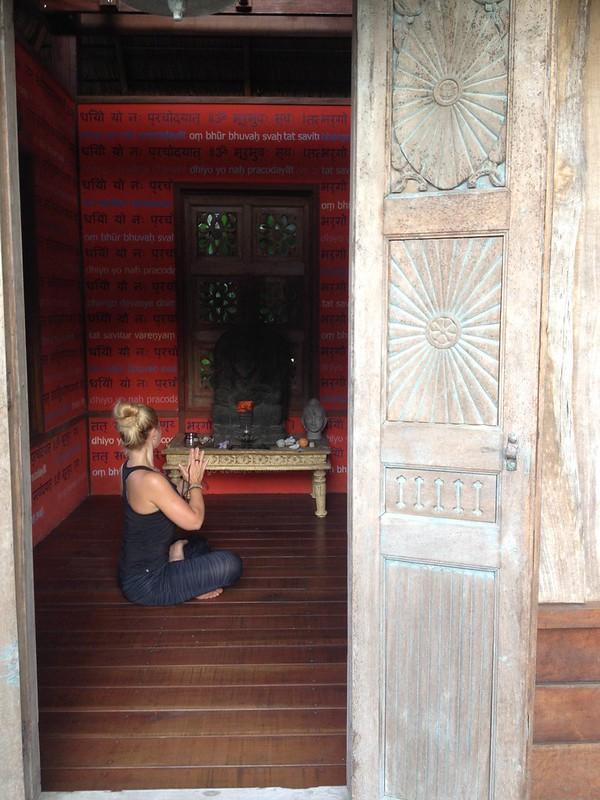 Blue Osa Temple