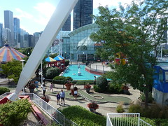 Chicago, Navy Pier, View from Ferris Wheel