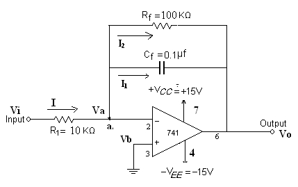 study of differentiator and integrator amplifier Inverting amplifier is a very versatile component and can be used for performing number of mathematical stimulation such as analog inverter, paraphrase amplifier, phase shifter, adder, integrator, differentiator.