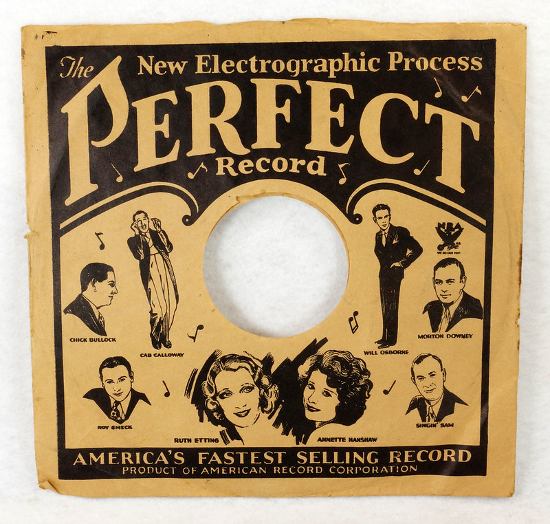 RD14635 3 Vintage PERFECT 78 RPM Album Sleeves American Record Corporation DSC06738