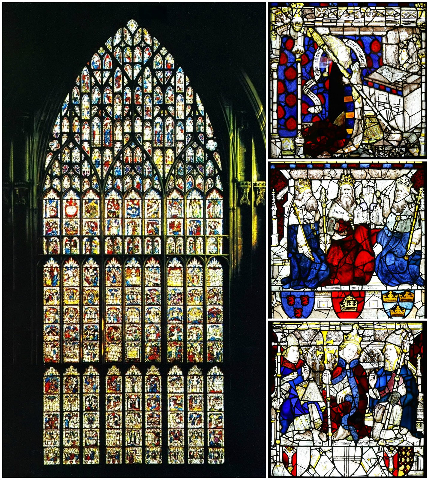 The Great East Window. Credit striderv, Andrewrabbott, flickr