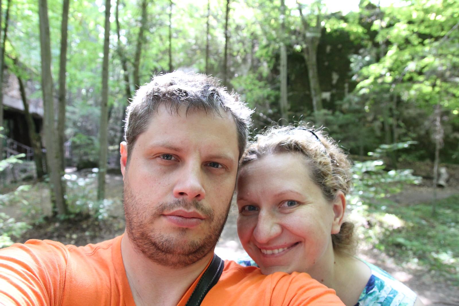 Dar tada atgal į Lenkiją užsukome. Apžiūrėjome Vilko irštvą.