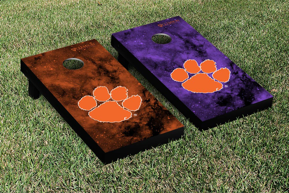 Clemson Tigers Galaxy Board