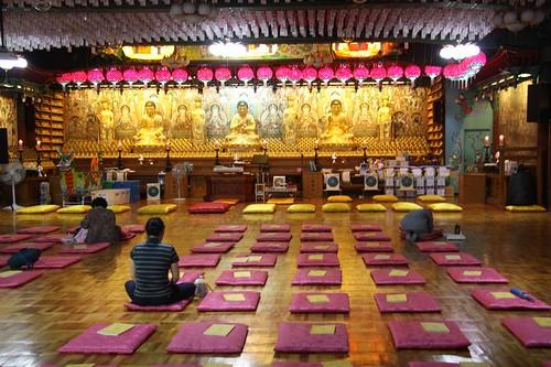 Hwagyesa templestay