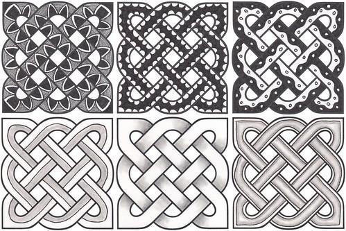 Decorating celtic knots