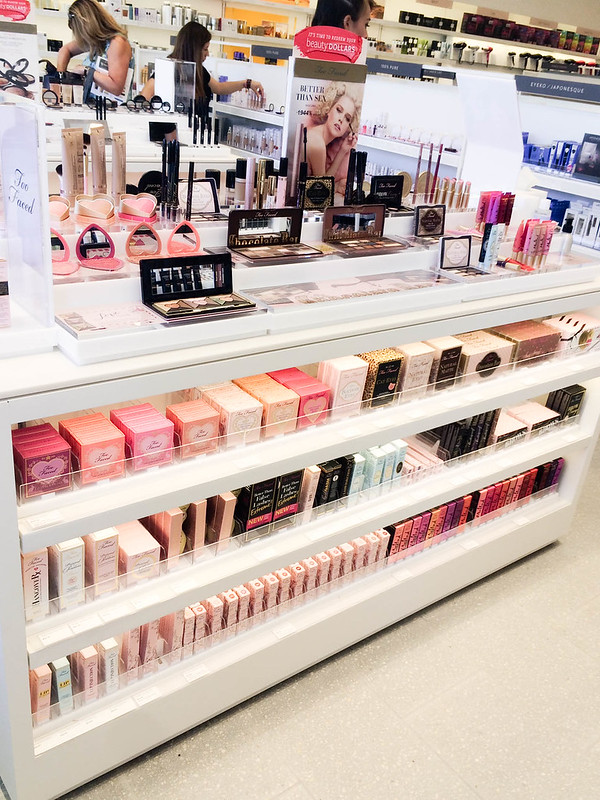 cute & little blog | beauty brands addison dfw store | too faced counter