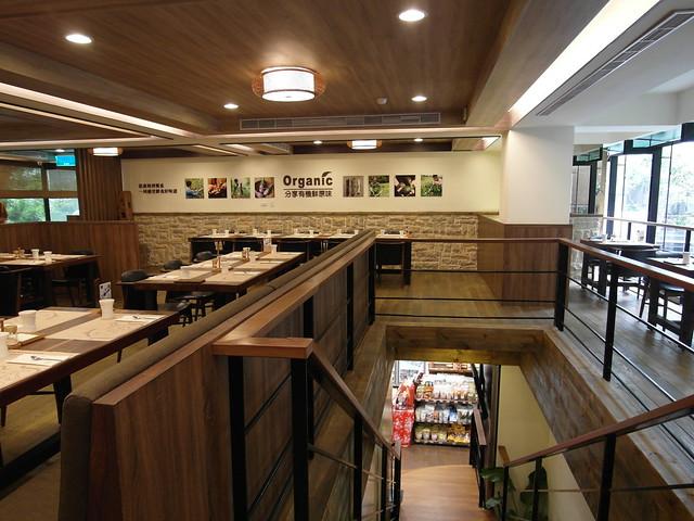 樓梯@棉花田有機餐廳