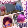 "Just call me ""Frenchy""!  Loving my lusty lavender hair! #SplatHead #LustyLavender #splat #dreamhair #purple"