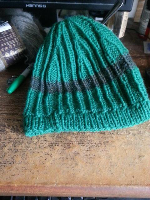 Knitted birthday hat!