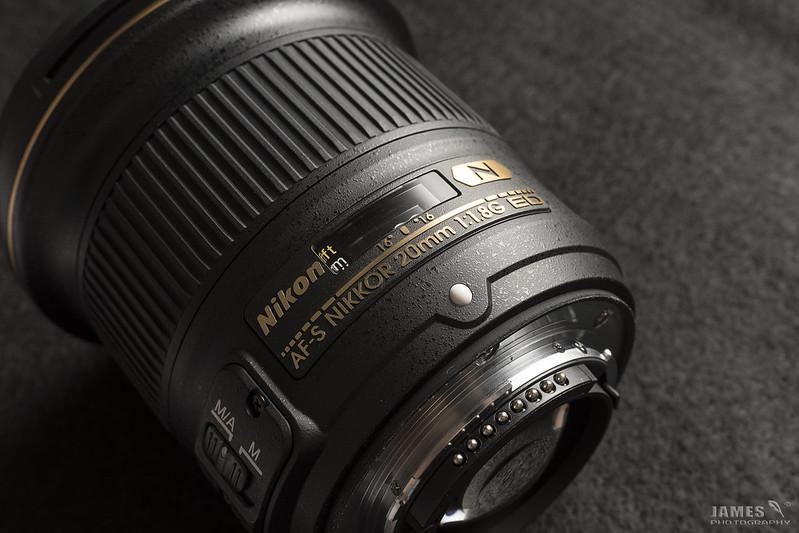 NIKON 20mm f1.8G ED