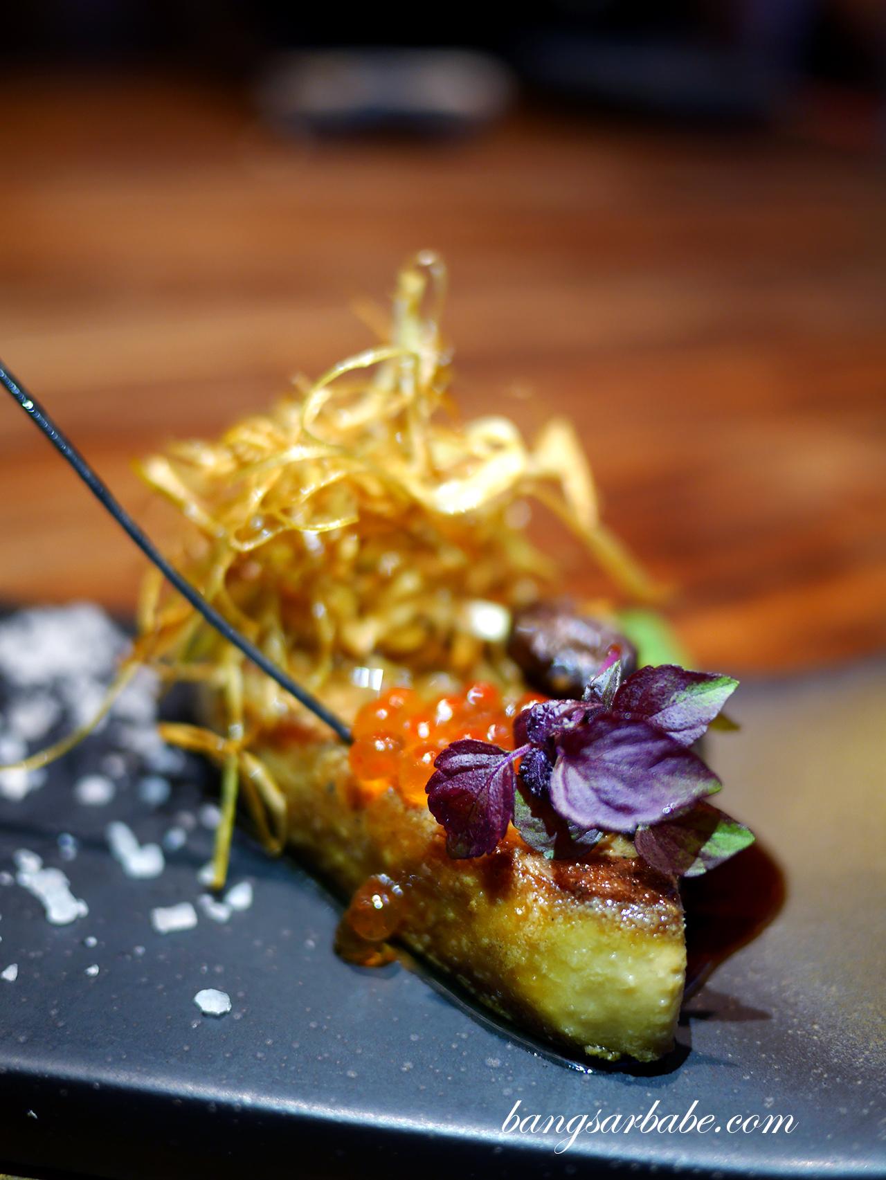 Omakase 7 Course (foie gras)