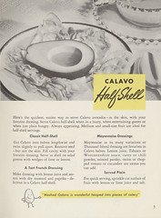 The Calavo Book of Popular Avocado Recipes - 1949…