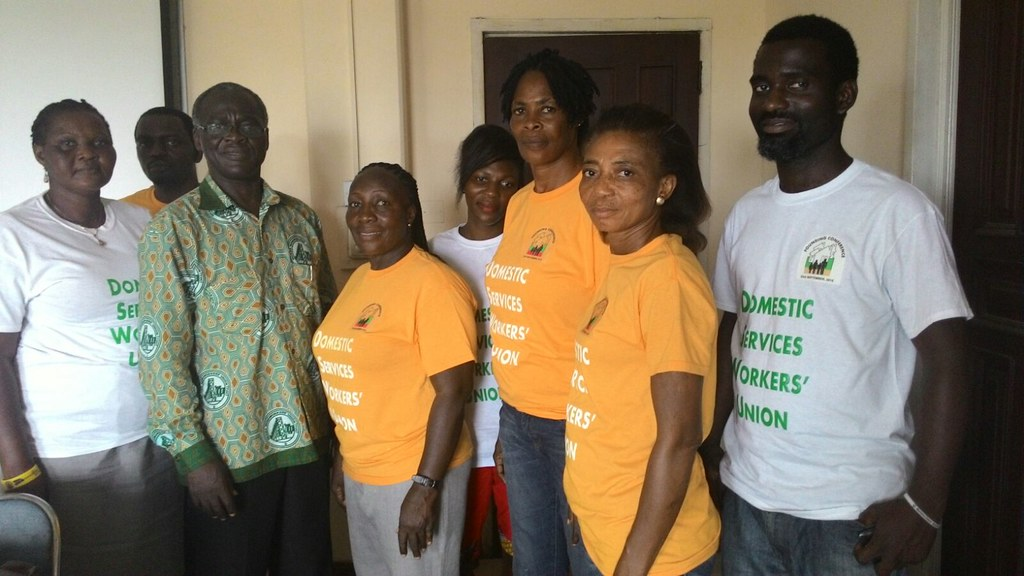 2015-10-9 Ghana: First meeting of leaders of Domestic Services Workers' Union (DSWU)