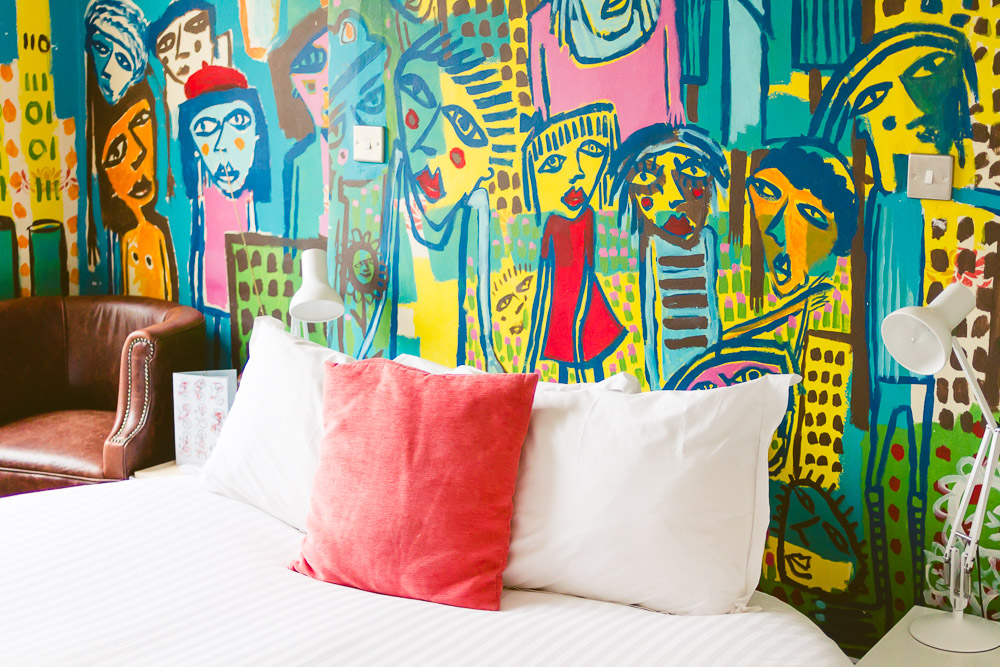 Artist residence hotel brighton colourful fun indie place to stay
