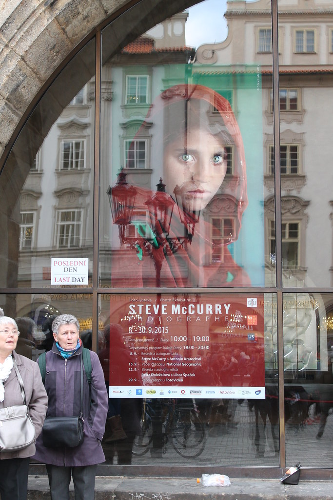 Last day of the Steve Mc Curry Exhibition in Old Town Hall