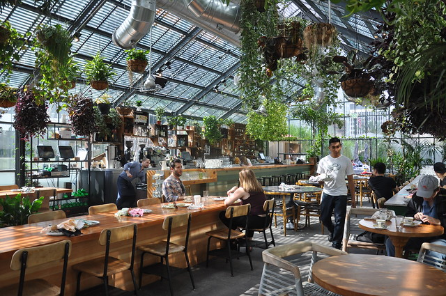 Lunch At The Commissary At The Line Hotel Blauearth