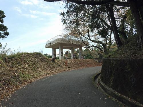 Observatory at Yakushi Forest Road(Atsugi, Japan)