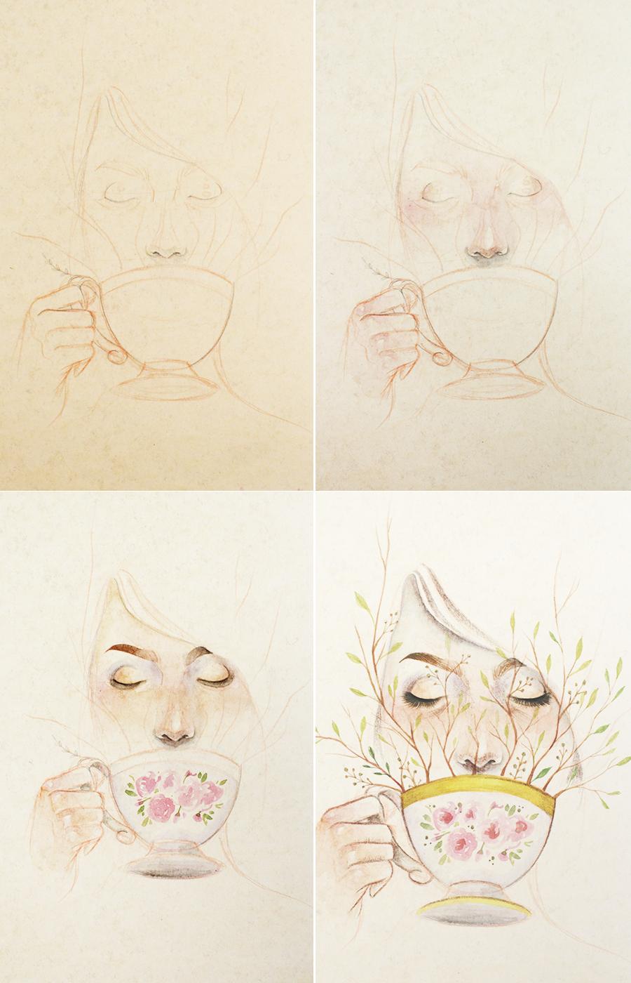 ilustrasunday-green-tea-01