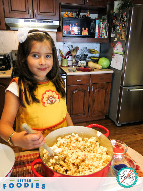 Kids Recipe: Popcorn Ball Monsters