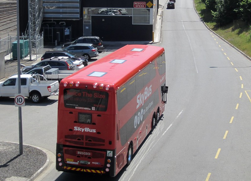 Skybus: 10 kmh zone at Southern Cross