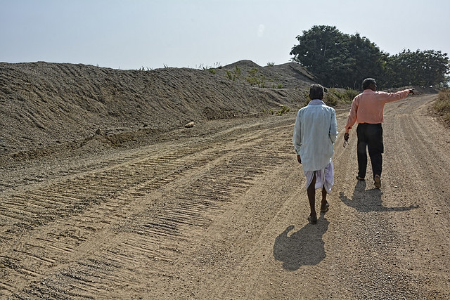 Ultratech Cement History : Ultratech cement mines limestone and villagers in
