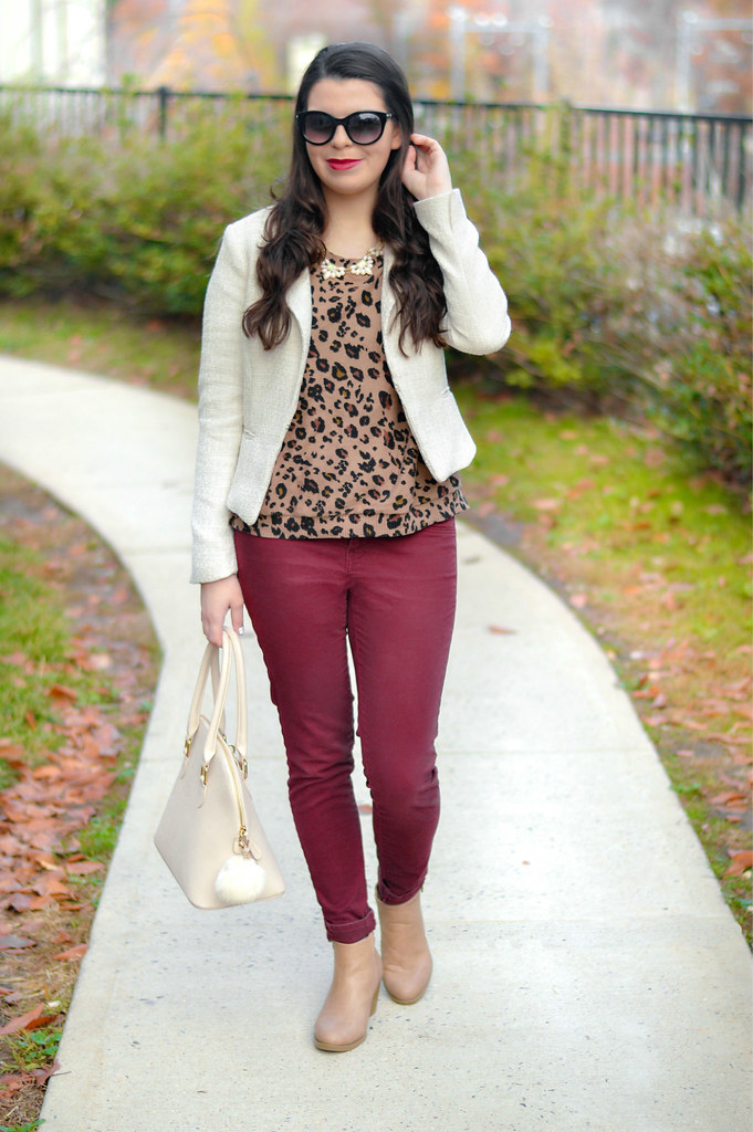 leopard-print- top
