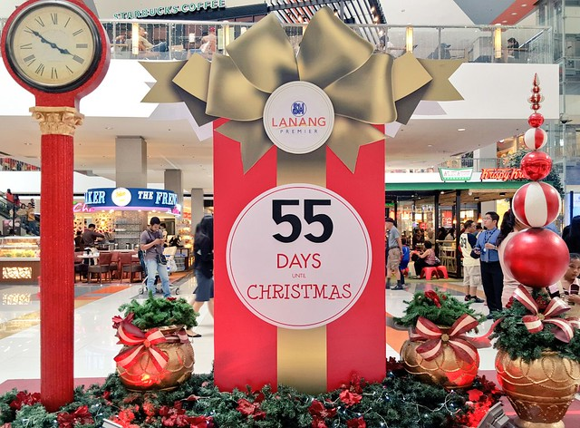 sm lanang premier christmas 2015 countdown davaolifecom - Countdown Till Christmas Decoration