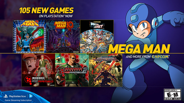 PS Now - Mega Man