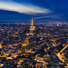 Nightfall in Paris by _Hadock_