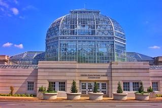 Washington DC ~ United States Botanical Garden Conservatory  ~ Landmark