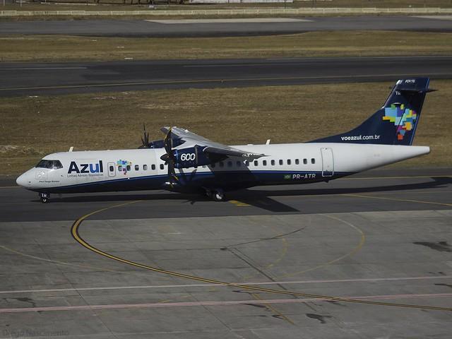 PR-ATR AZUL Linhas Aéreas Brasileiras ATR 72-600 (72-212A) - cn 966