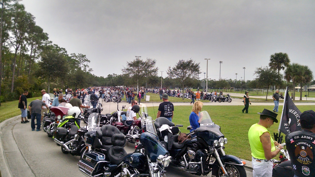 OAK FL Superintendent, Danny Trueblood, and his family participated in the March of Dimes Bikers for Babies Motorcycle Rally. Over 1300 bikes were in attendance and raised about $200,000