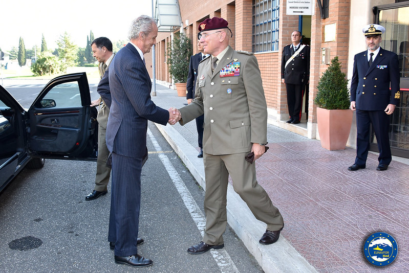 Visit of Spanish Minister of Defence to OHQ in Rome – EUNAVFOR MED Operation Sophia