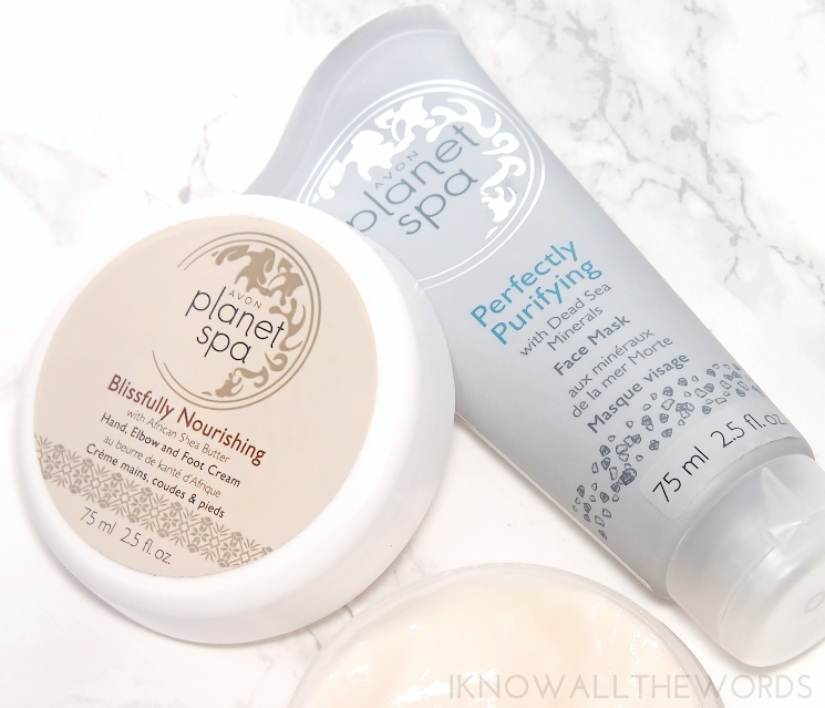Avon Planet Spa Blissfully Nourishing Cream and Clay Face Mask