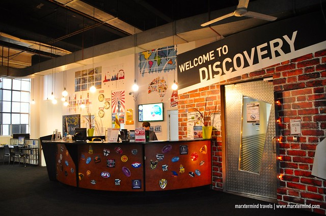 Discovery Melbourne Front Desk