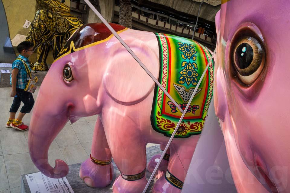 Elephant Parade @ Bangkok, Thailand