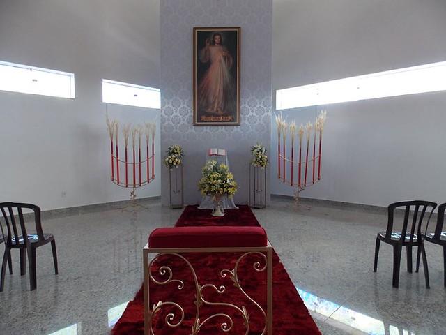 Abertura da porta santa - diocese de luziania