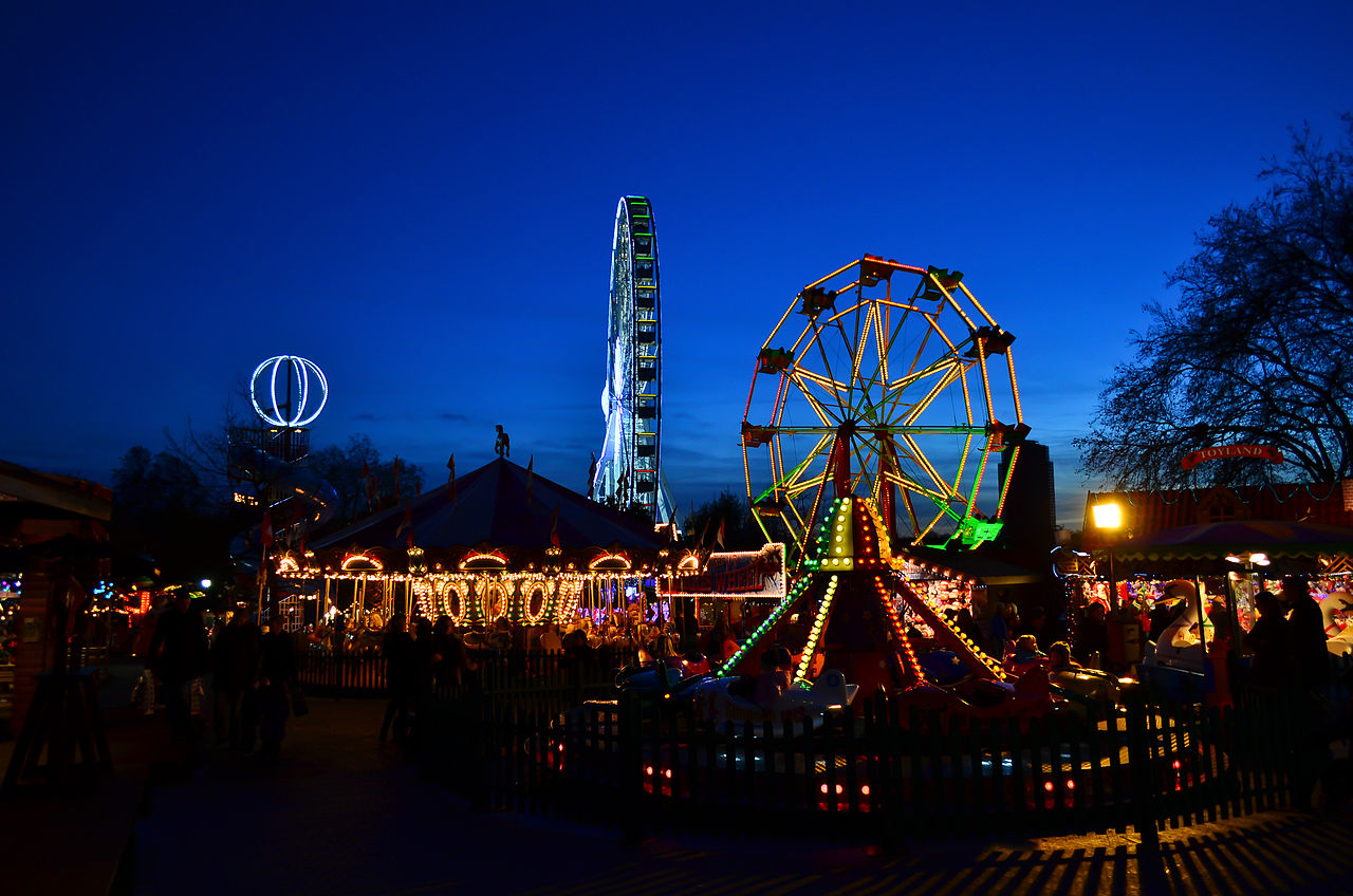 Hyde Park Winter Wonderland Christmas Market, London, England. Credit Garry Knight