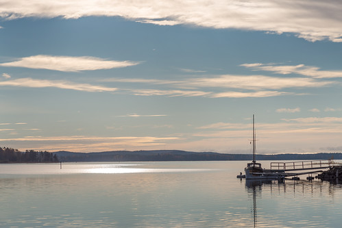 sky cloud lake reflection water suomi finland pier boat horizon lakeside loci skrubu keuruu pni pekkanikrus hotellikeurusselkä