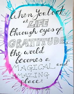 1 Gratitude - ArtJournal Page