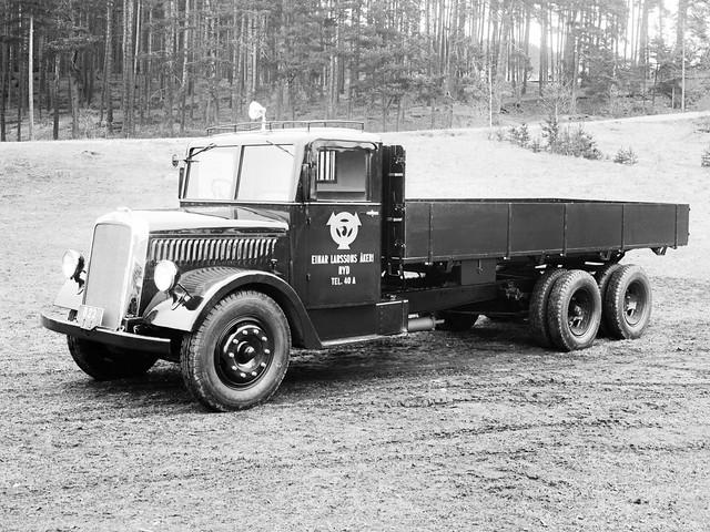 Грузовик Scania-Vabis 335. 1932 – 1944 годы