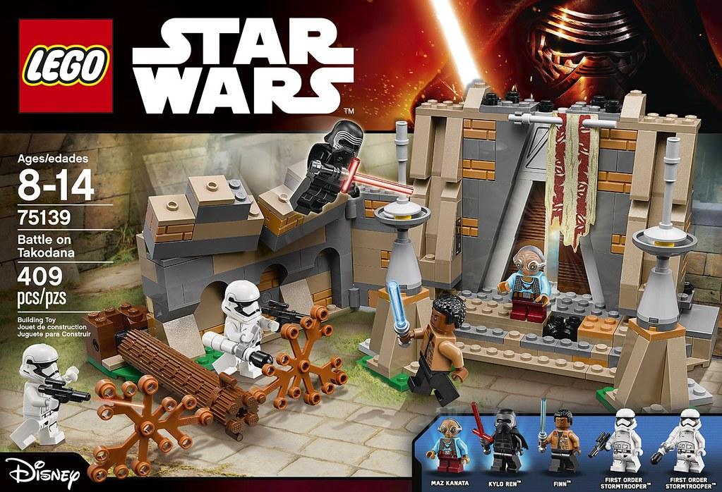 LEGO® 75139【塔可達納星球之戰】Battle on Takodana