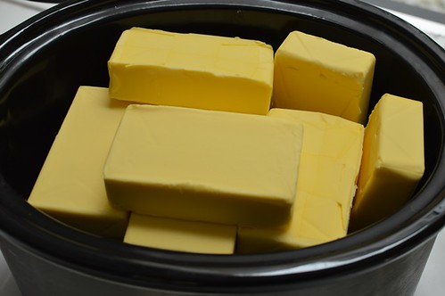 Butter in slow cooker